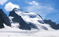 Glaciers are a important natural resource, and its ice is the largest reservoir of fresh water on Earth.