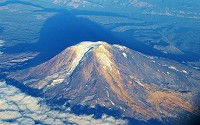 Mount Adams, at 12,276 feet (3742 metres), casts a long shadow over Eastern Washington.